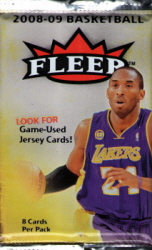 Fleer 2008-09 NBA Sealed Pack