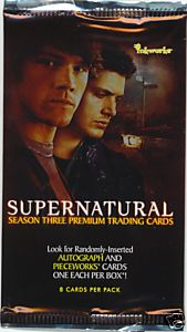 Supernatural Season 3 Sealed Pack