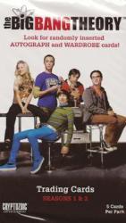 The Big Bang Theory Seasons 1 and 2 Sealed Pack