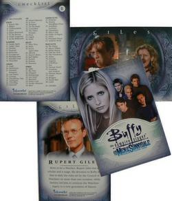 Buffy the Vampire Slayer - Men of Sunnydale Base Set