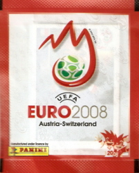 Euro 2008 Sticker Sealed Pack