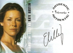 Evangeline Lilly as Kate Austin Authentic Autograph