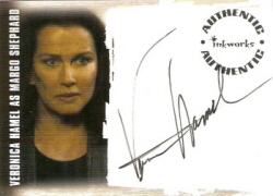 Veronica Hamel as Margo Shephard Autograph