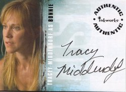 Tracey Middendorf as Bonnie Authentic Autograph