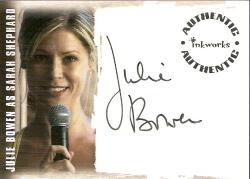 Julie Bowen as Sarah Shephard Autograph