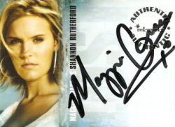 Maggie Grace as Shannon Rutherford Authentic Autograph