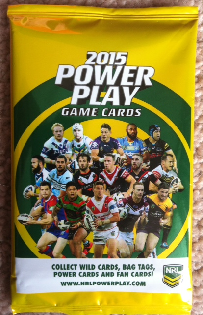 NRL Power Play 2015 Sealed Pack