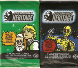 Star Wars Heritage Sealed Hobby Pack