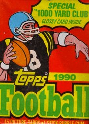 Topps NFL 1990 Sealed Pack
