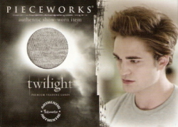 Robert Pattinson as Edward Cullen Authentic Pieceworks Christmas Sale!